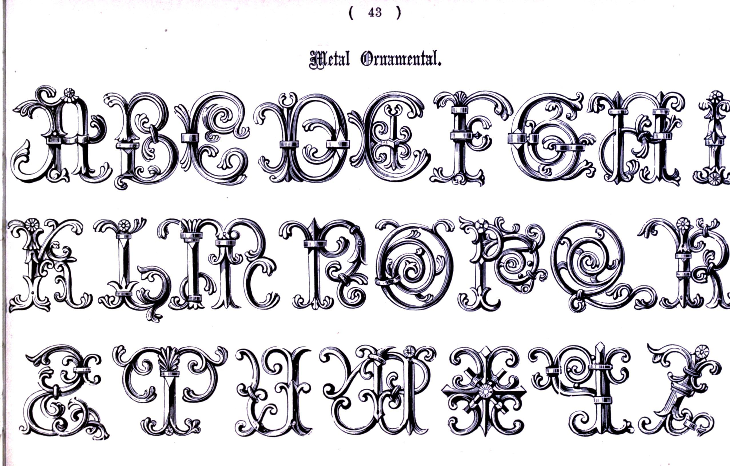 The Book Of Ornamental Alphabets Ancient And Mediaeval