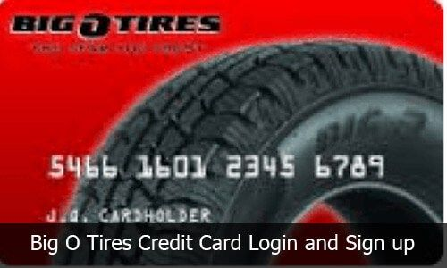 Big O Tires Credit Card Login And Sign Up Guide Credit Card