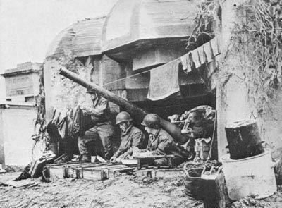 batterie de cherbourg - debarquement normandie 6 juin 1944