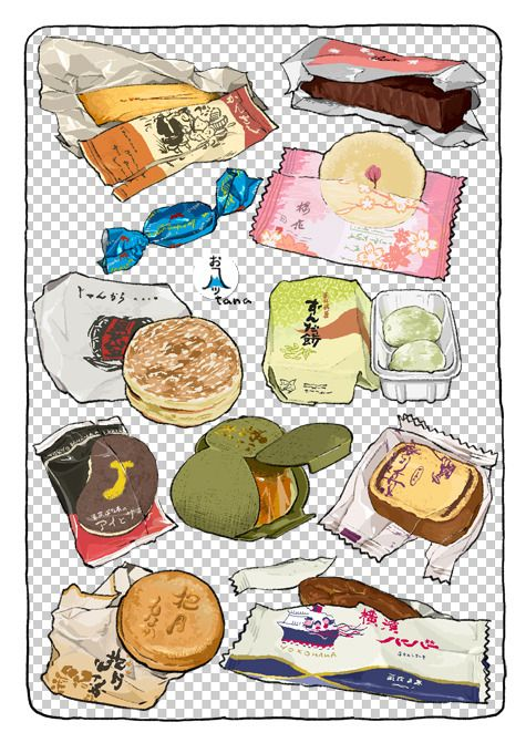 Pin By Cindy Ye On おいしそう Cute Food Art Food Illustrations Food Drawing