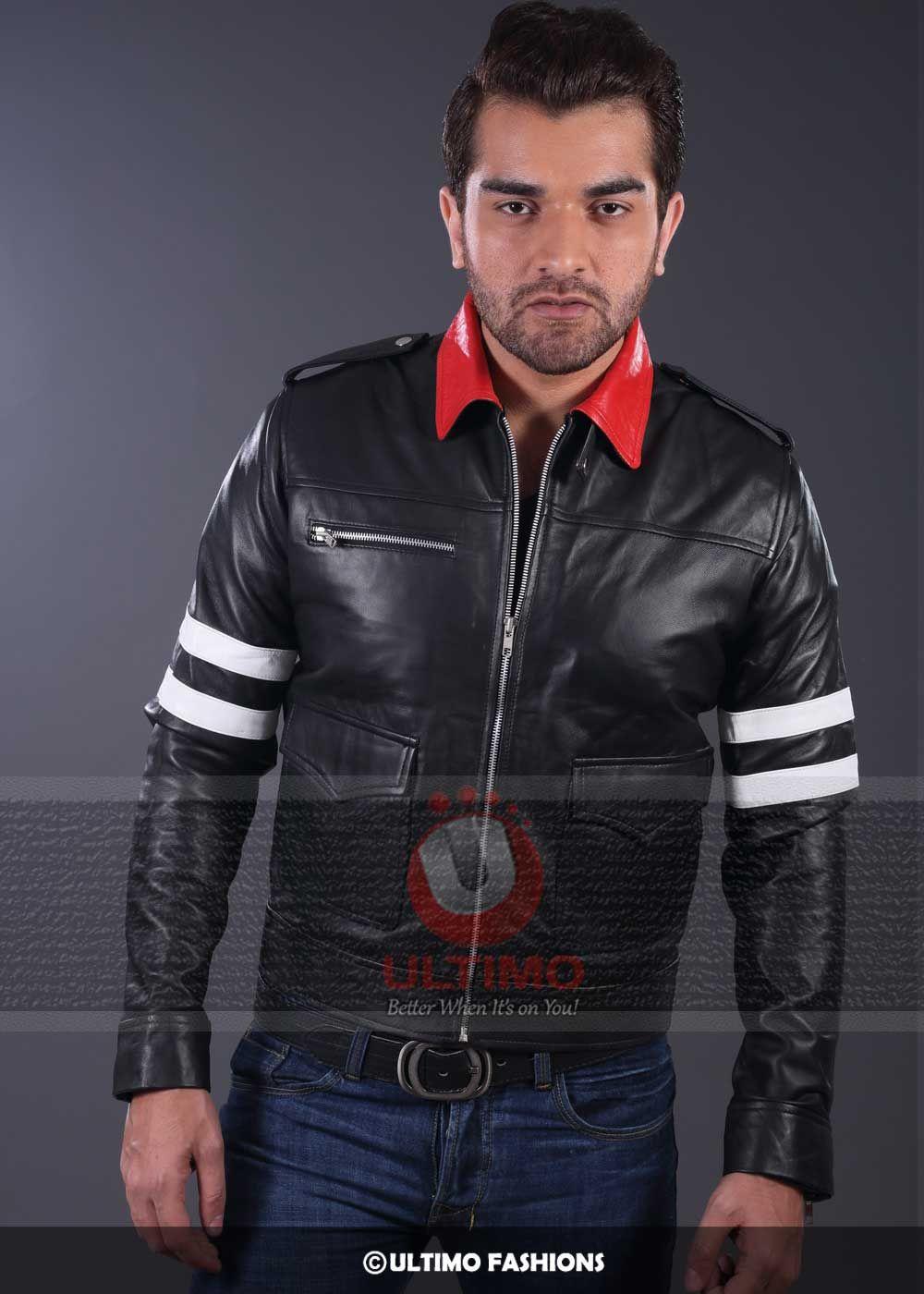 Game Alex Mercer Prototype Leather Jacket The skinny style