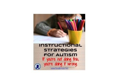 Instructional Strategies For Autism Instructional Strategies