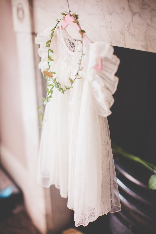 Flower girl outfit pastel bridesmaid dresses vintage