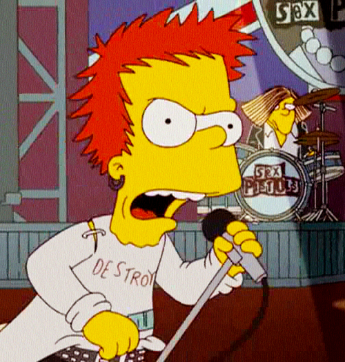 Commit simpsons sex pistols episode something also
