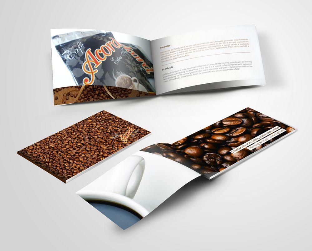 Editorial - Presentation Editorial institucional que apresenta a marca e produtos • Café Acord • Marco Menezes | Designer Gráfico | www.marcomenezes.com/