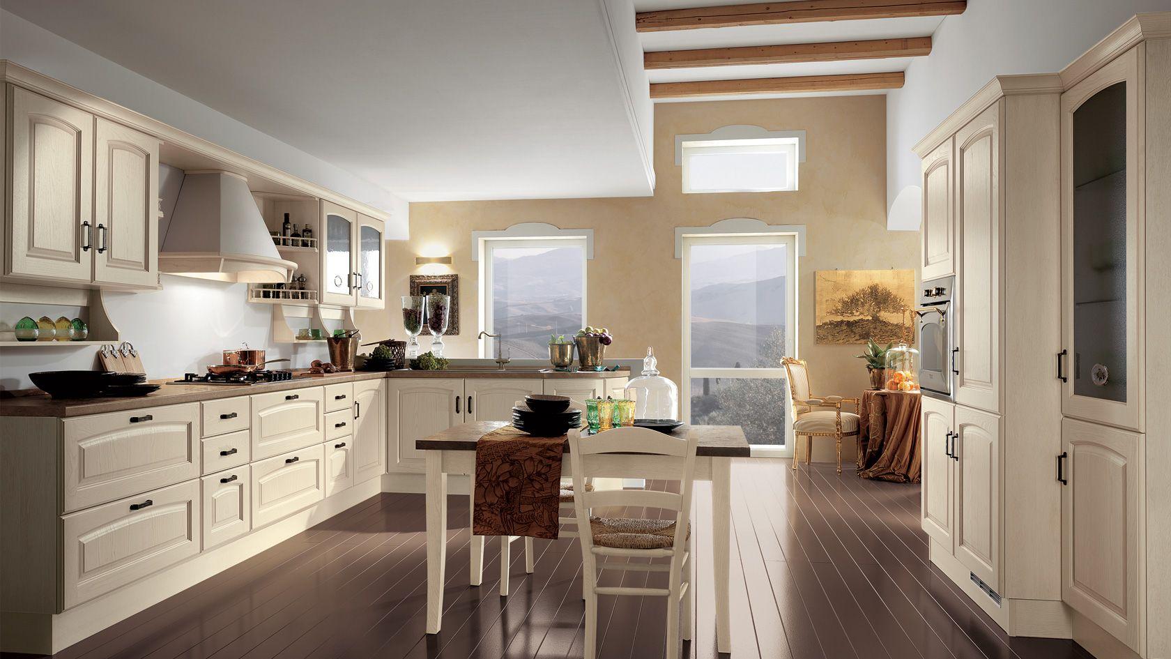Cucina in legno Madeleine | Sito ufficiale Scavolini | Cucine ...