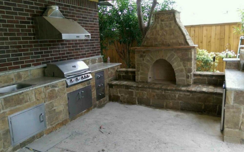 Outdoor Kitchen Ideas Houston Outdoor Kitchen Pros Outdoor Kitchen Backyard Inspo Outdoor Fireplace