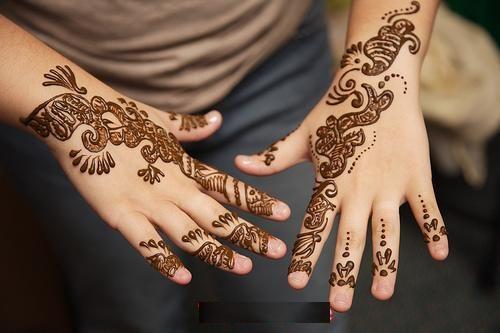 Desenhos Mehndi Significado : Desenhos indianos nas pernas mehundi lotus significado e foto