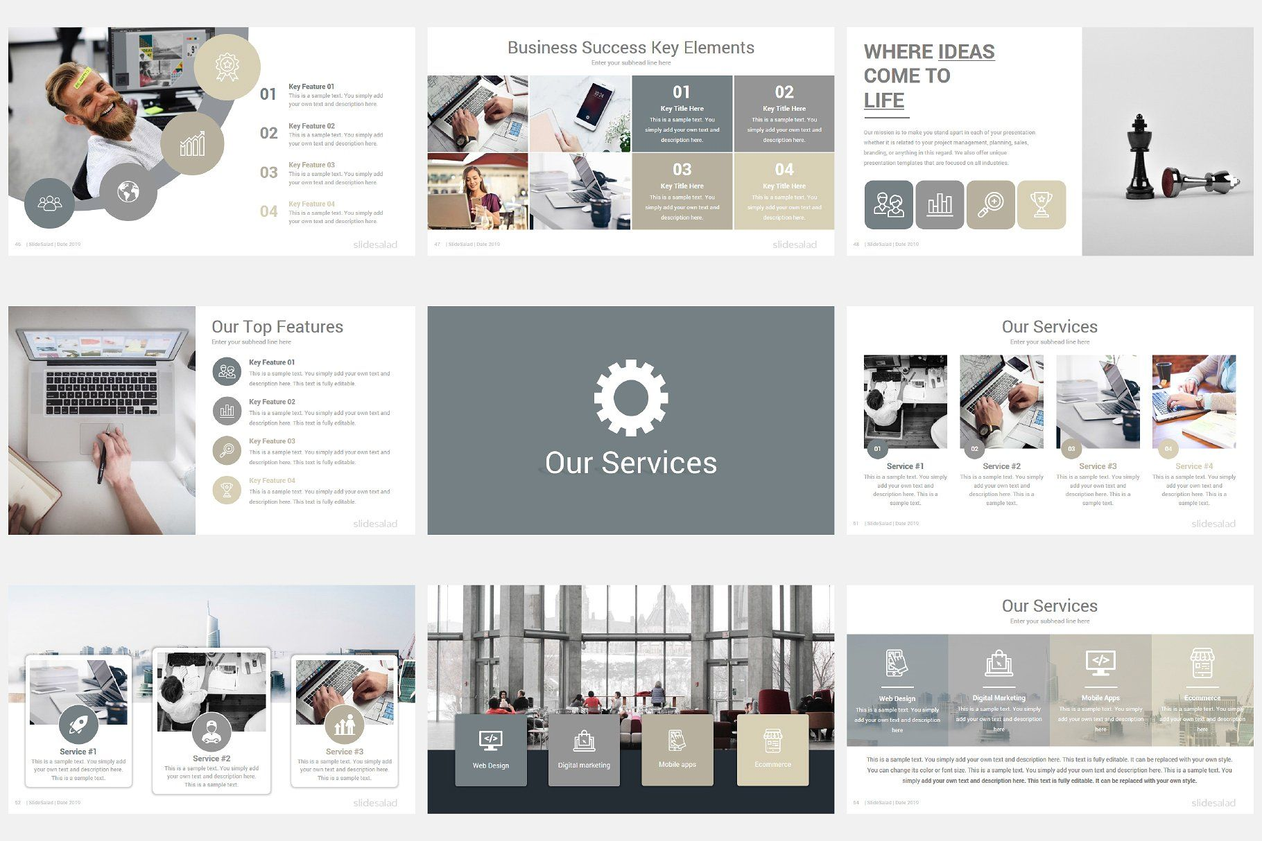 Modern Company Profile Powerpoint Company Profile Powerpoint