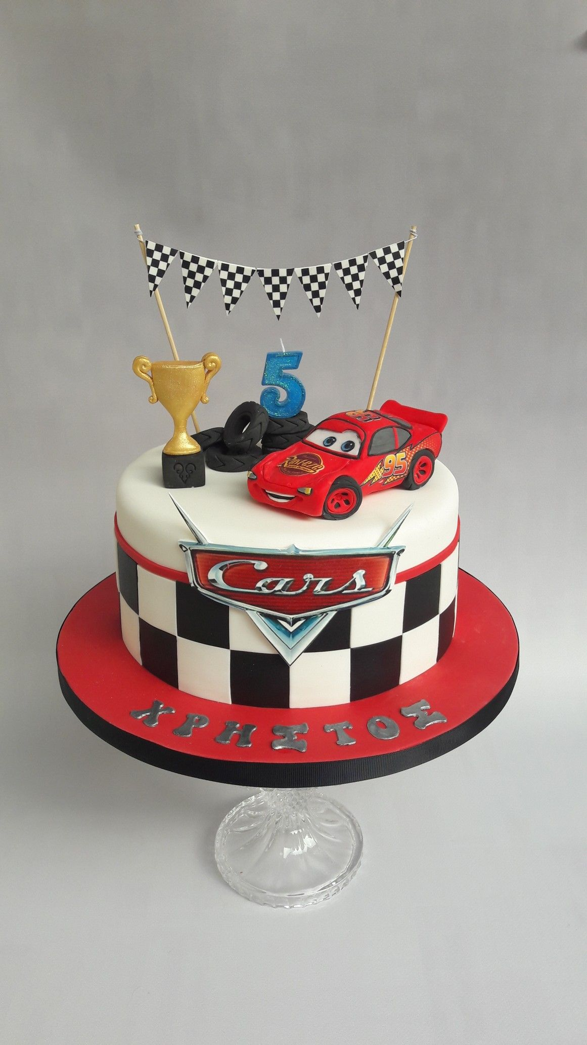 Incredible Lightning Mcqueen Cars Cake Cars Birthday Cake Boy Birthday Personalised Birthday Cards Veneteletsinfo
