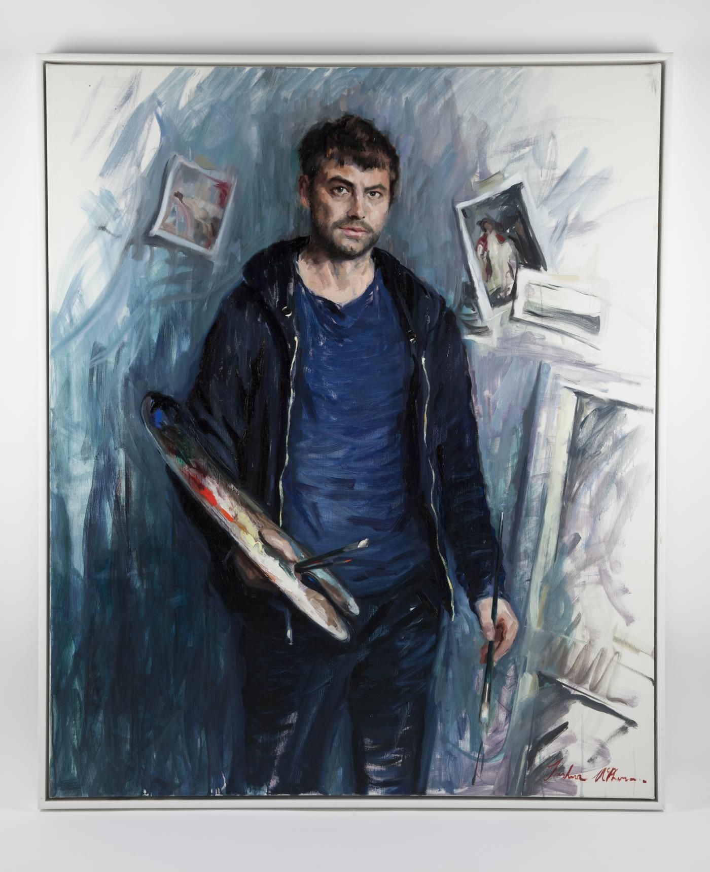 What do you think of tutor Josh McPherson- Self-portrait? We think it is amazing! We are lucky to have Josh teach our Introduction to Portrait Painting and Life Drawing classes at WWAS! Learn more here >