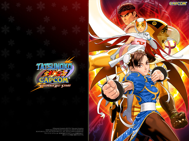 Tatsunoko Vs Capcom Ultimate All Stars Wii Jpn Wallpapers Capcom Full Hd Pictures Star Wallpaper