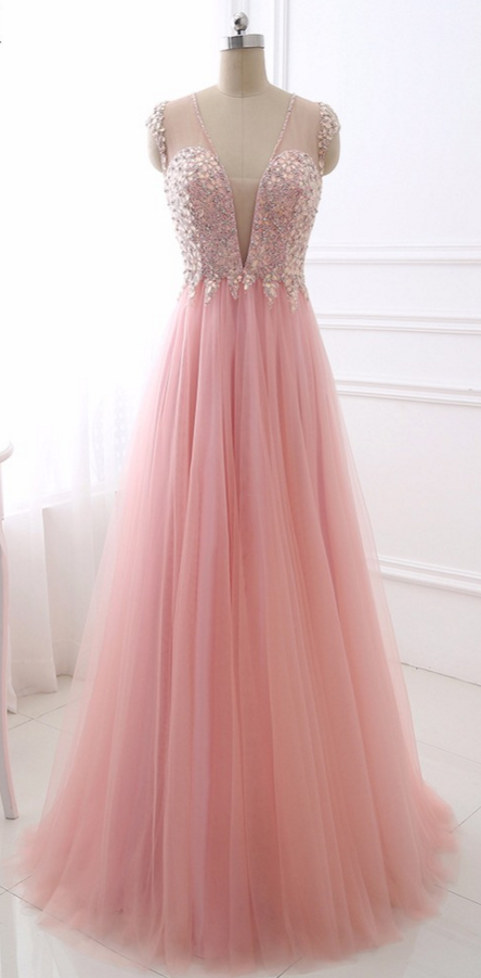 Sexy V Neck Evening Dress Erosebridal Sparkly Beading This is simply ...