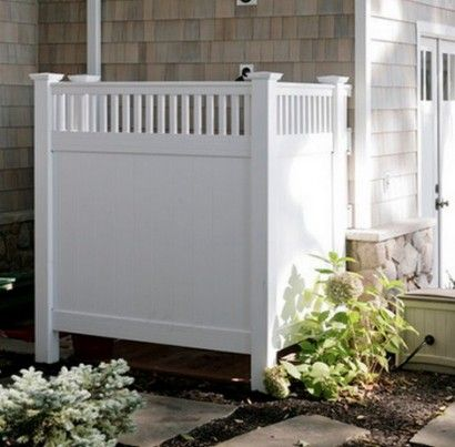Hide Garbage Cans With Pallets Hide Trash Bin From