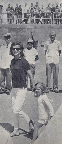 Jackie and Caroline In Italy