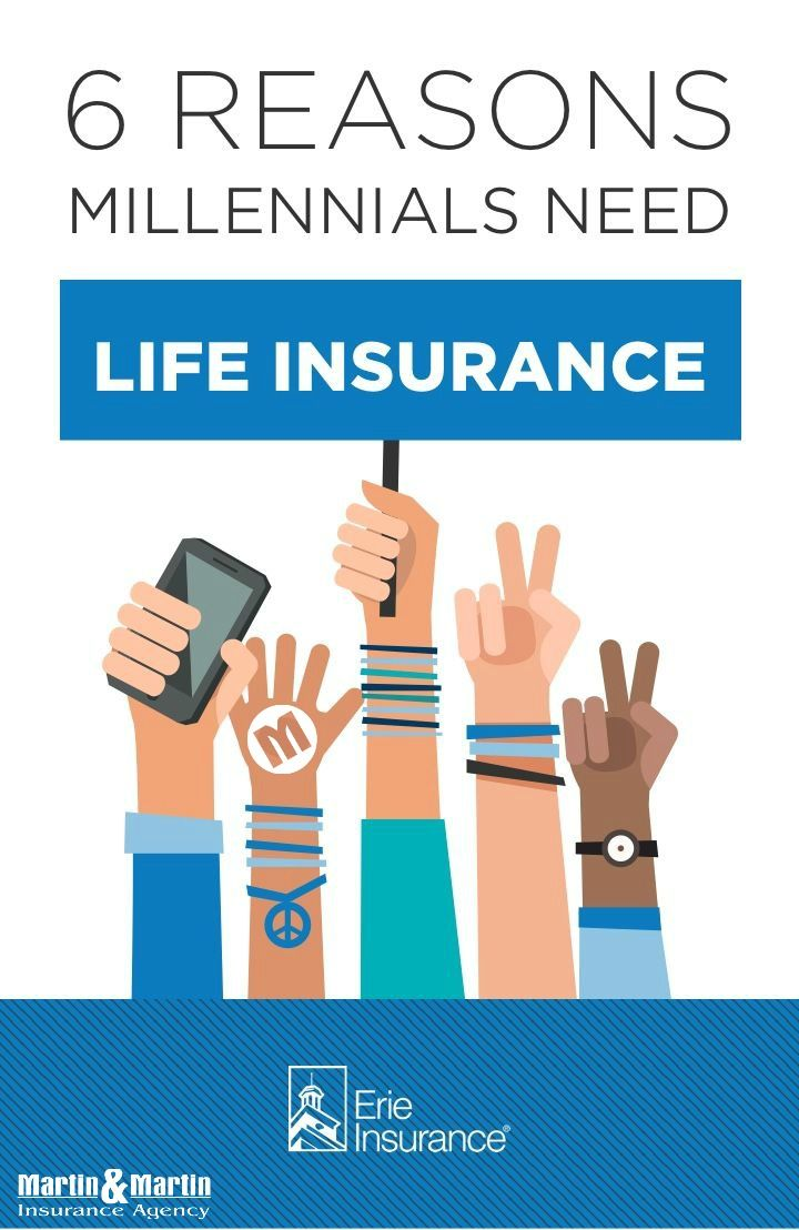 Life Insurance For Millennials Life Insurance Facts Erie