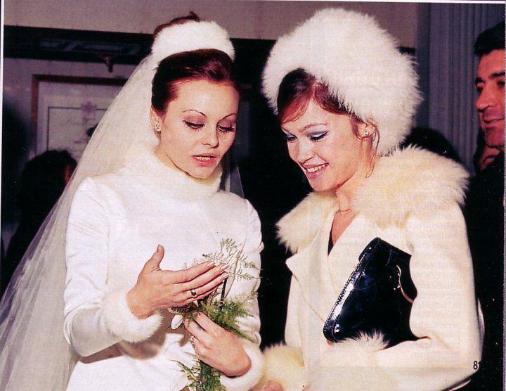 Marisol And Rocío Dúrcal, The Day Of Rocío's Wedding