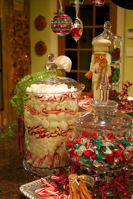 Use Candy As Vase Fillers Christmas Decorations Candle Vase Floral Vase