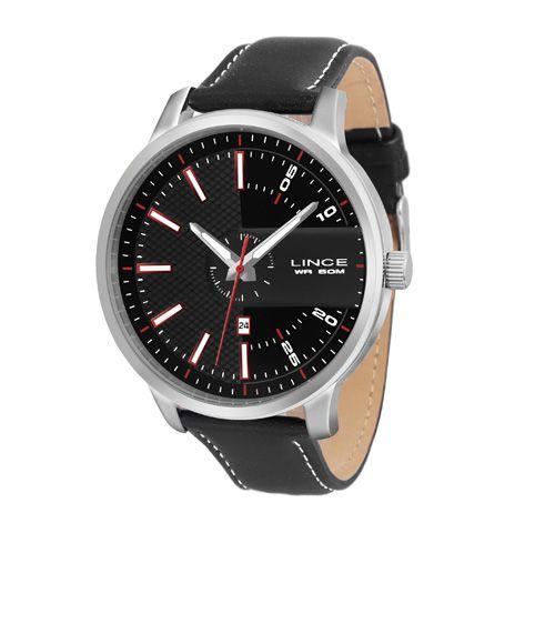 c9f611cb183 Informações do Relógio Marca  Lince Estilo  Fashion Mecanismo  Analógico  calendário Modelo  MRCH019S