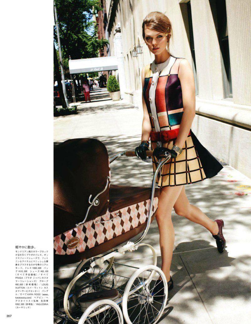 Karlie Kloss By Arthur Elgort For Vogue Japan September -9041