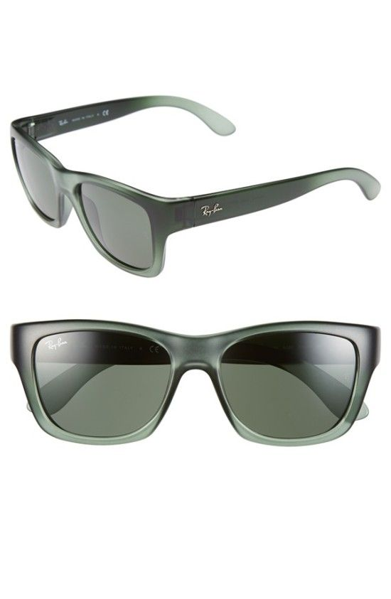 02c54e9dfe0 Green 53mm Sunglasses by Ray-Ban  108.75