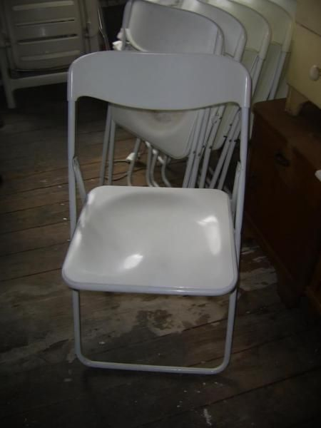 6 Klappstuhle Fur Den Garten Weiss Plastik Stuhle Gartenmobel Klappstuhl Gartenmobel Stuhle
