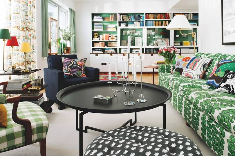The Interiors of Josef Frank - then & now