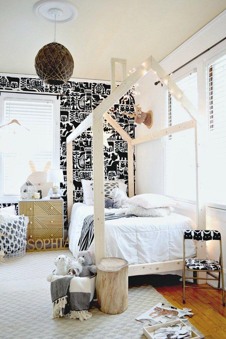Scandinavian Style DIY House Bed using Kreg Jig R3 | Share Your ...