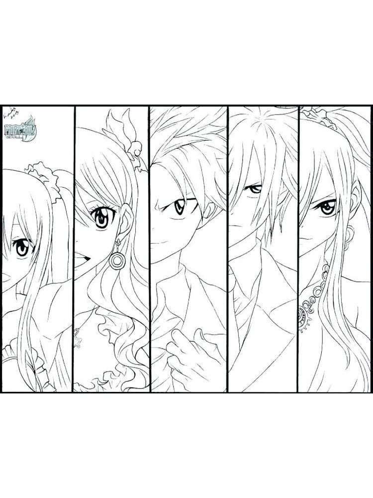 Cute Anime Coloring Pages Printable - Free Coloring Sheets ...