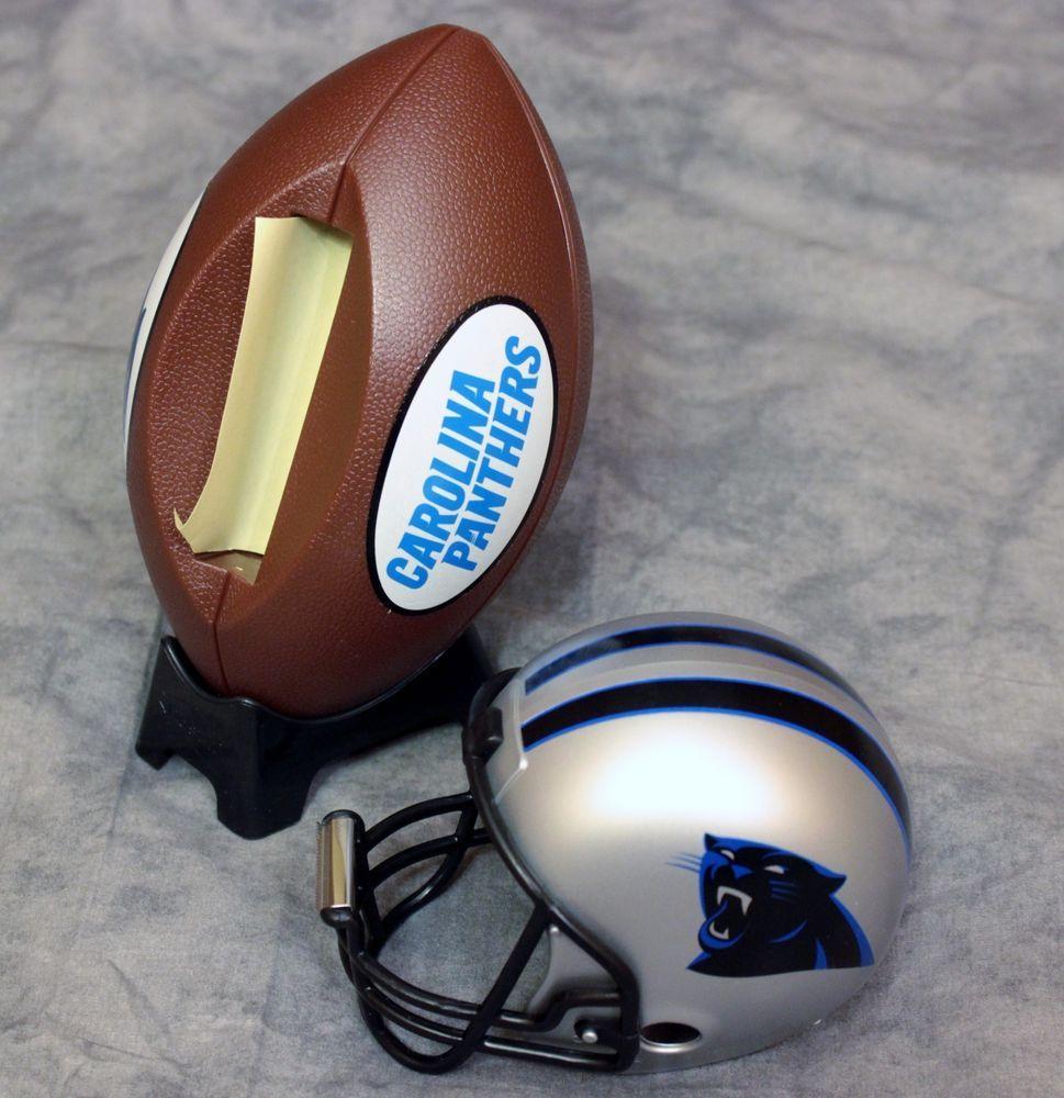 Details About Nfl Carolina Panthers Desk Accessories Post It