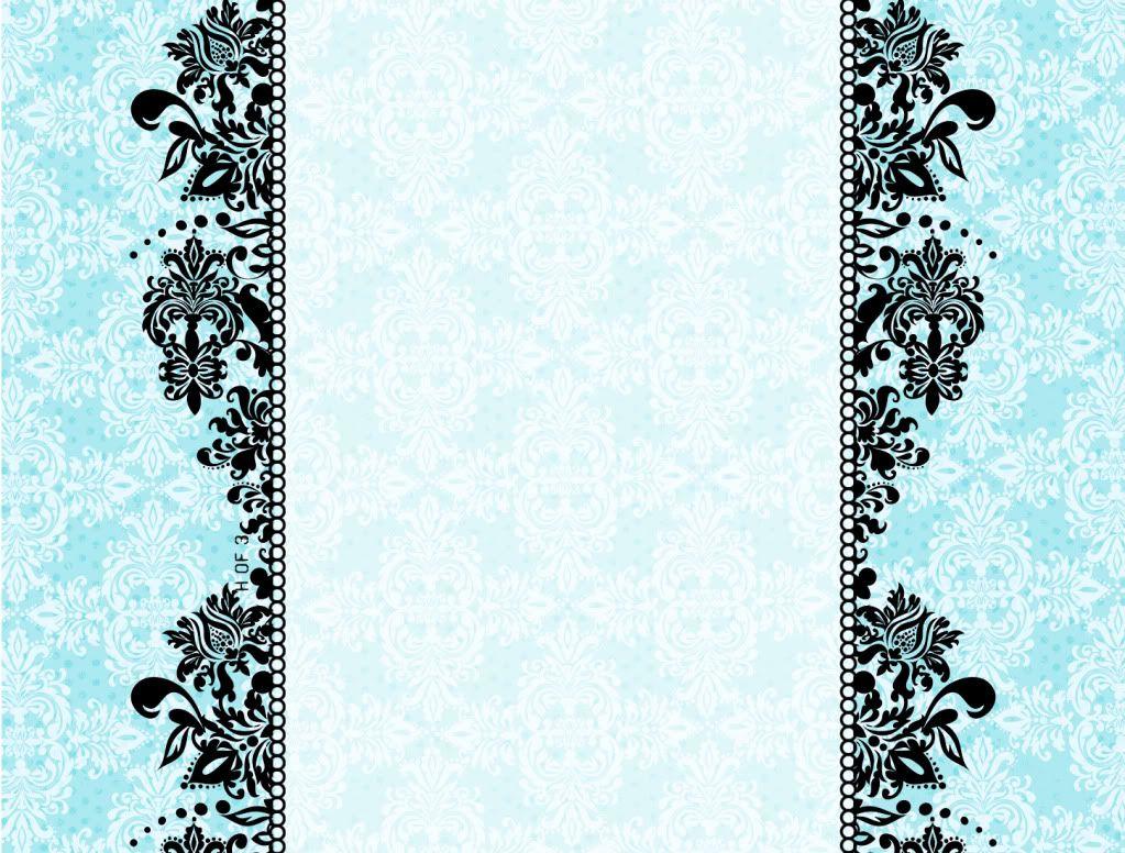 Dark Blue Damask Wallpaper: Design ~ Elegant, Vintage, Damask