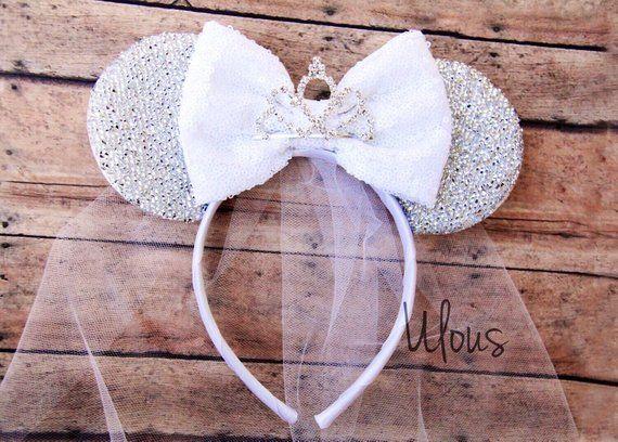 Wedding Mickey Ears 797cb5929d6