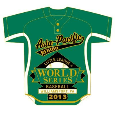 Ws13 Asia Pacific Jersey Pin Baseball World Series Little League Little League Baseball