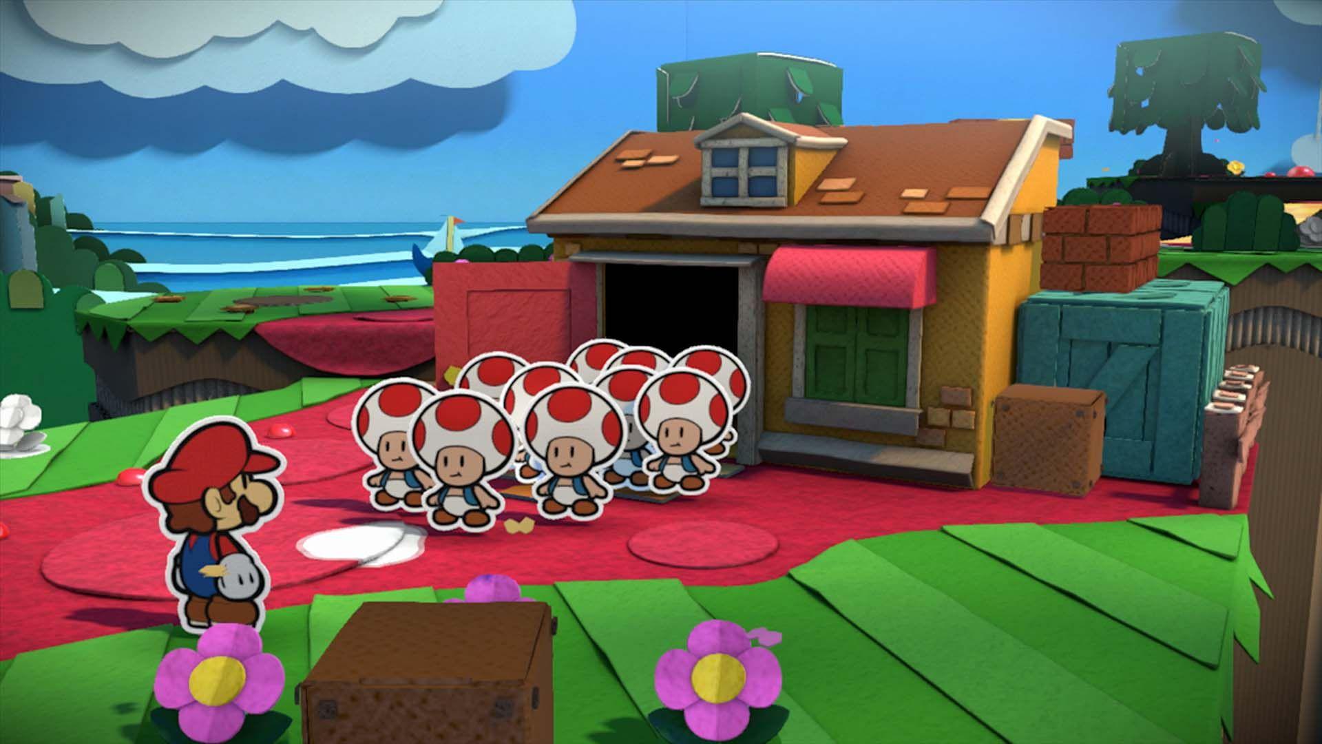 Afbeeldingsresultaat Voor Paper Mario Gameplay Paper Mario Color
