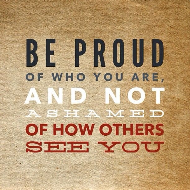 Motivational Quote Be Proud Self Esteem Quote Of The Day With Delectable Self Motivation Quotes