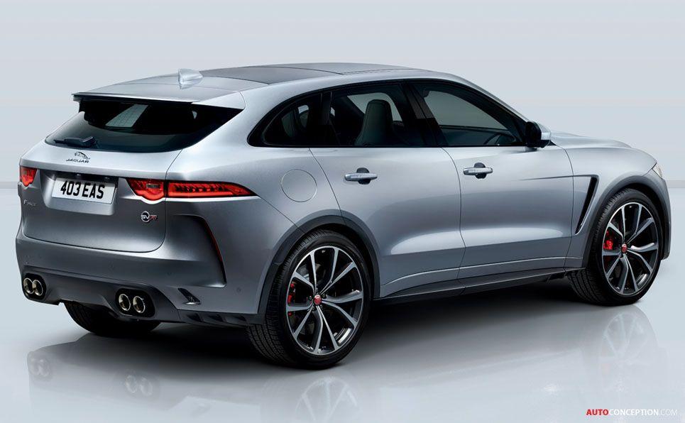 New Jaguar F Pace Svr Becomes British Brand S Fastest Ever Suv Autoconception Com New Jaguar Jaguar Suv Jaguar