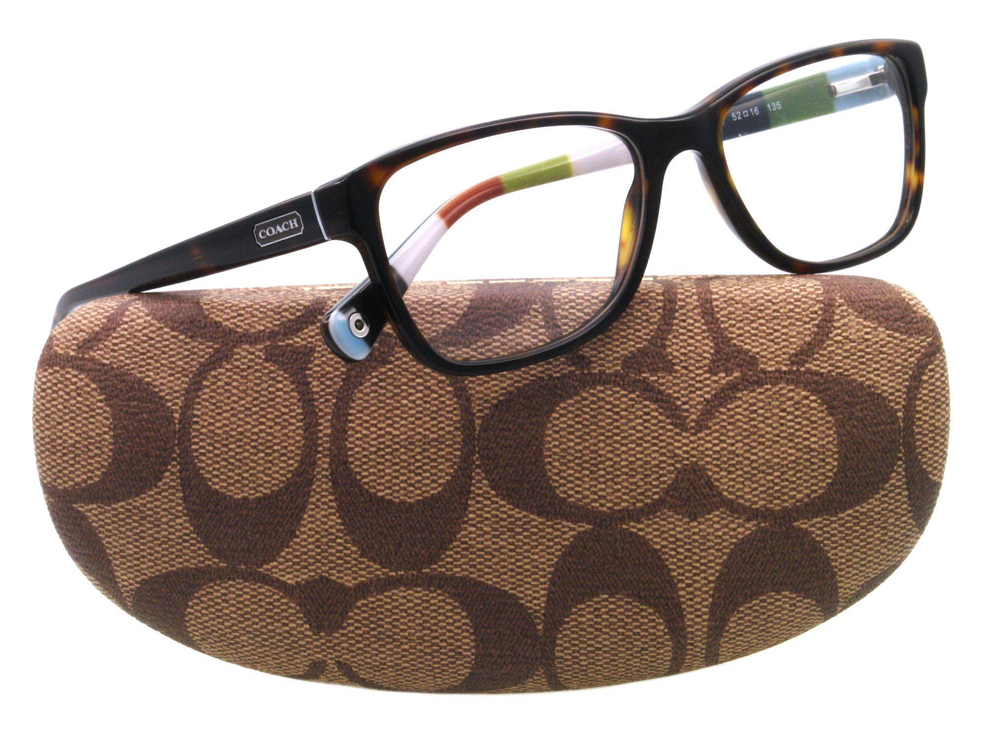 16b358bbbee6 Ladies rock it! #COACH HC 6013 Eyeglasses 5001 Tortoise Demo Lens 54-16-135
