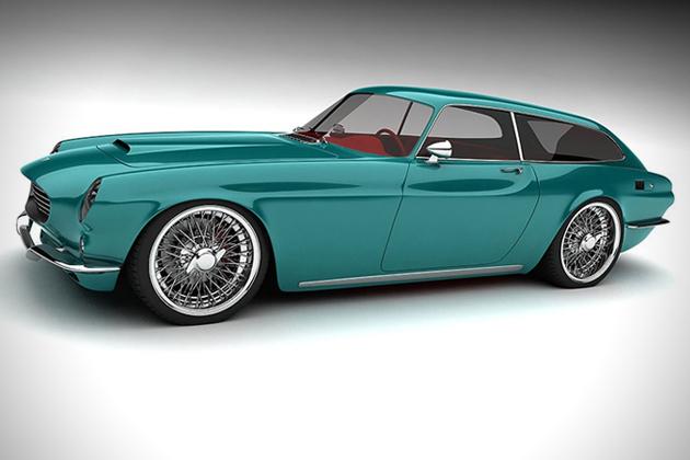 Volvo P1800 ZES Concept | HiConsumption #conceptcars