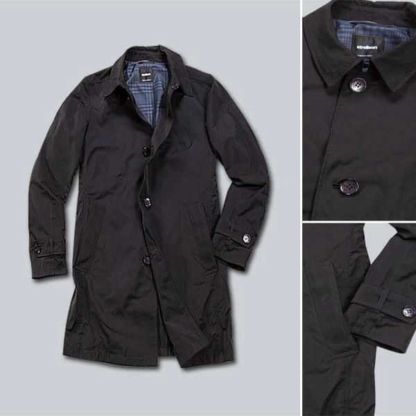 strellson \u0027coriton\u0027 raincoat in black strellson pinterest  strellson \u0027coriton\u0027 raincoat in black