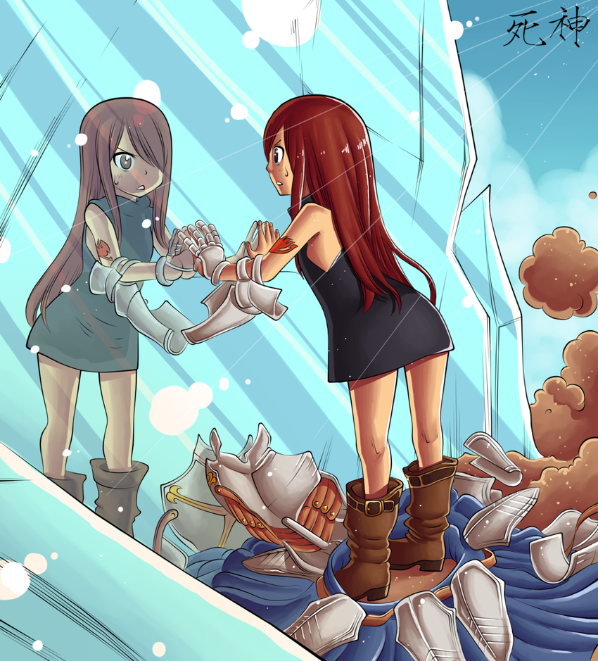 Kid Erza by Hitotsumami Fairy tail pictures, Fairy tail