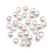 Hot-Fix Glass Rhinestones - Crystal AB - 3mm - Value Pack