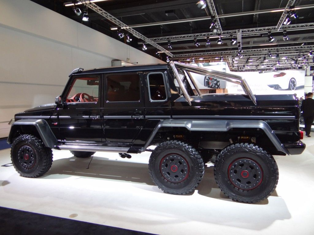 2013 brabus b63s based on the mercedes benz g63 amg 6x6 for Mercedes benz g63 amg 6x6 price
