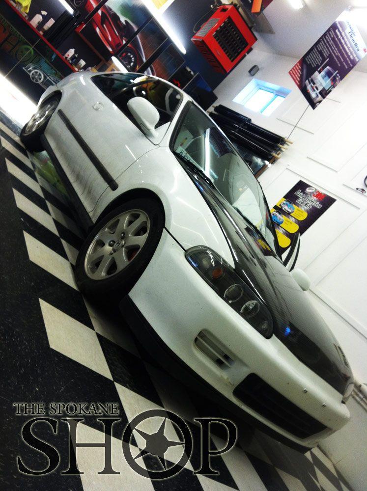 Honda civic 2dr window tinting spokane wa tint clear bra