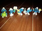 5 smurf figurine Schleich, Bully West Germany and Hong Kong - Bully, FIGURINE, Germany, Hong, Kong, Schleich, Smurf, WEST