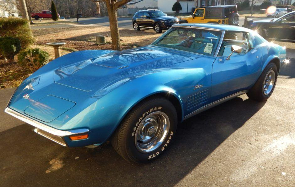 1970 Chevrolet Corvette 454 390hp 4 Speed Chevrolet Corvette Corvette Chevrolet