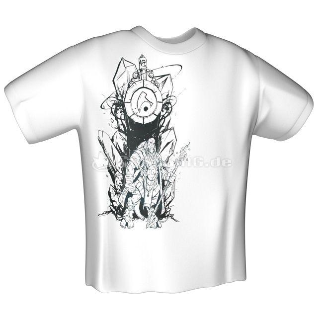 Jinx World of Warcraft Draenei Race T-Shirt White