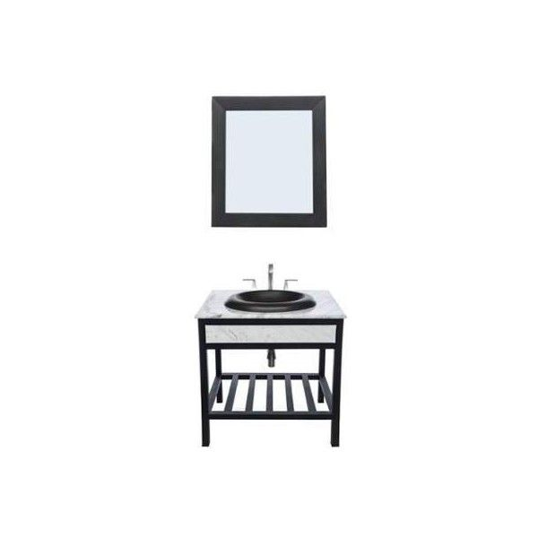 "Native Trails VNR30-BUNDLE Cuzco 31"" Free Standing Vanity Set with ($2,406) ❤ liked on Polyvore featuring home, home improvement, plumbing, fixture, single and vanity"