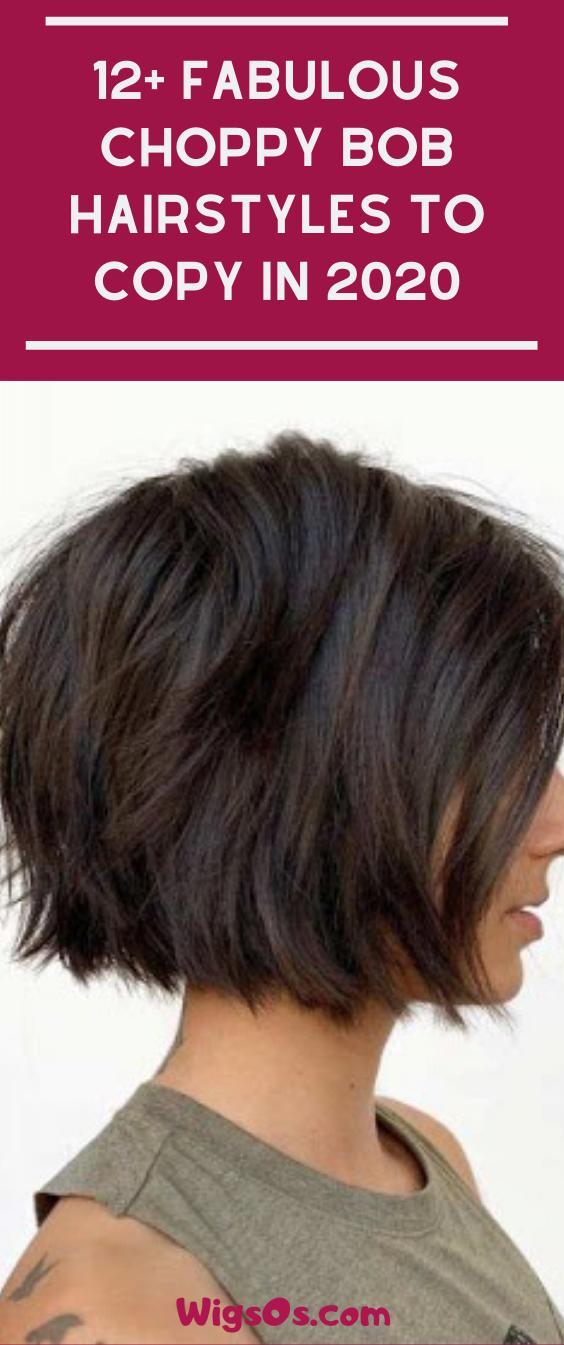 12 Fabulous Choppy Bob Hairstyles In 2020 Choppy Bob Hairstyles Bob Hairstyles Hair Styles