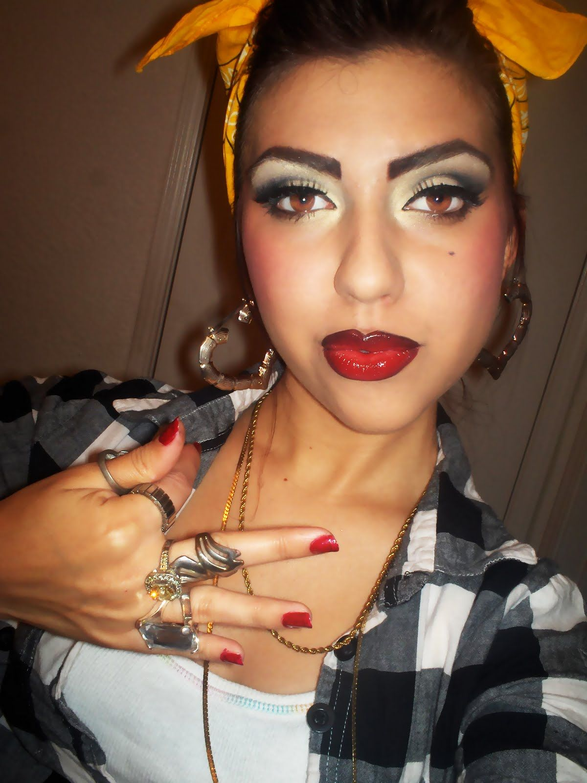 mexican beauty | Chola Inspired makeup | LUUUX | Beauty-full ...