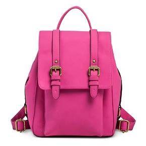 86672c18df0f Women s Vertical Buckles Backpack Faux Leather Handbag - Merona™   Target